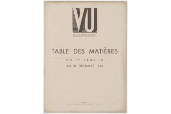 Vu Index 1934